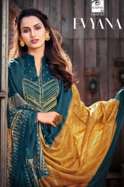 Kapil Trendz Evyana Salwar Suit Wholesale Catalog 6 Pcs