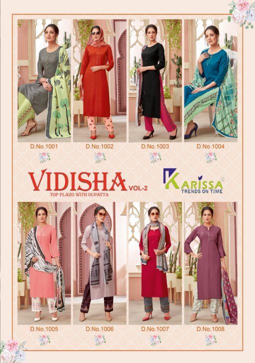 Karissa Vidisha Vol 2 Kurti with Dupatta Bottom Wholesale Catalog 8 Pcs 11 510x725 - Karissa Vidisha Vol 2 Kurti with Dupatta Bottom Wholesale Catalog 8 Pcs
