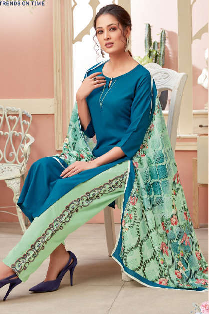 Karissa Vidisha Vol 2 Kurti with Dupatta Bottom Wholesale Catalog 8 Pcs