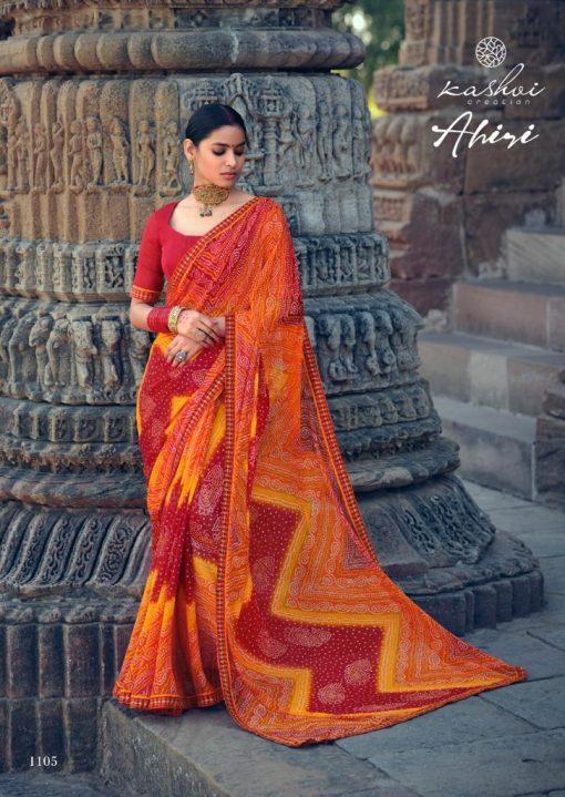 Kashvi Ahiri by Lt Fabrics Saree Sari Wholesale Catalog 10 Pcs 4 510x719 - Kashvi Ahiri by Lt Fabrics Saree Sari Wholesale Catalog 10 Pcs