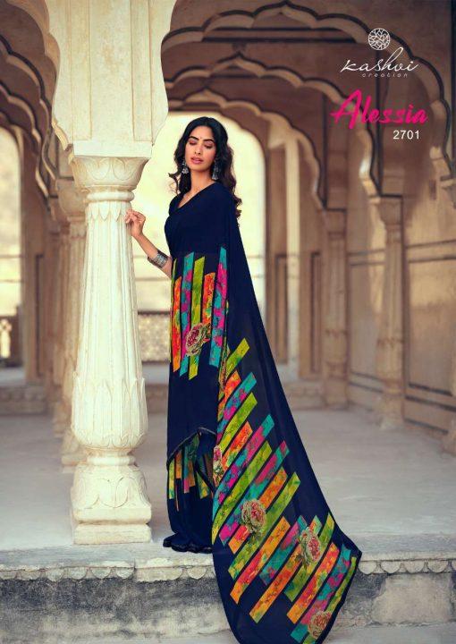 Kashvi Alessia by Lt Fabrics Saree Sari Wholesale Catalog 10 Pcs 1 510x720 - Kashvi Alessia by Lt Fabrics Saree Sari Wholesale Catalog 10 Pcs