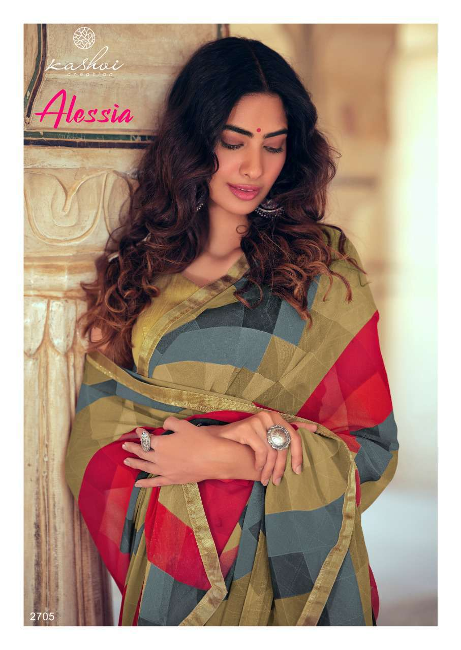 Kashvi Alessia by Lt Fabrics Saree Sari Wholesale Catalog 10 Pcs 10 - Kashvi Alessia by Lt Fabrics Saree Sari Wholesale Catalog 10 Pcs