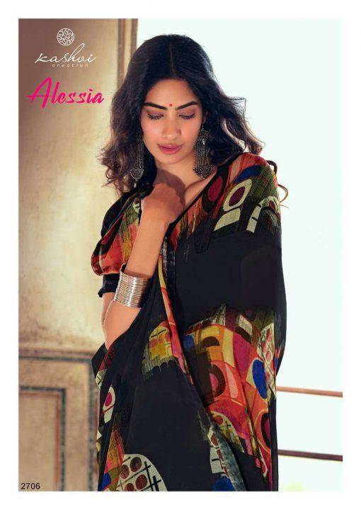 Kashvi Alessia by Lt Fabrics Saree Sari Wholesale Catalog 10 Pcs 12 510x720 - Kashvi Alessia by Lt Fabrics Saree Sari Wholesale Catalog 10 Pcs