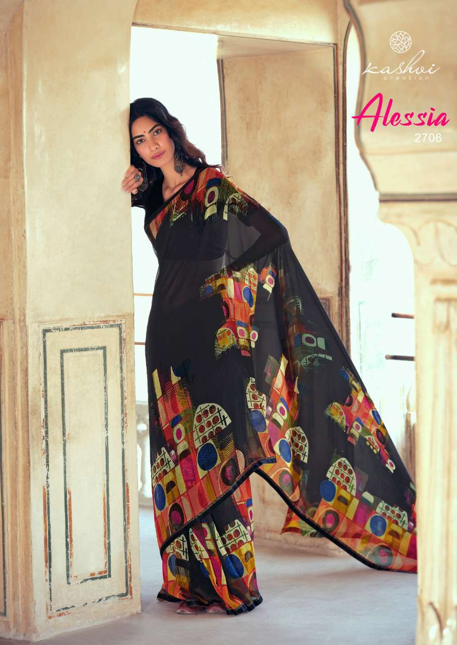 Kashvi Alessia by Lt Fabrics Saree Sari Wholesale Catalog 10 Pcs 14 - Kashvi Alessia by Lt Fabrics Saree Sari Wholesale Catalog 10 Pcs