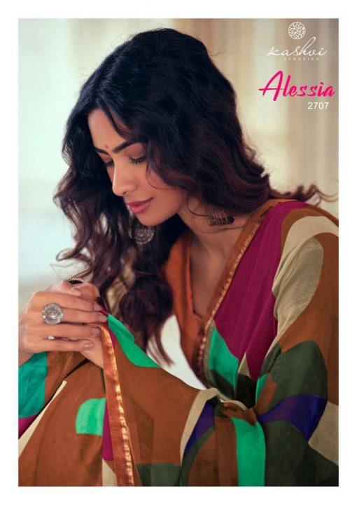 Kashvi Alessia by Lt Fabrics Saree Sari Wholesale Catalog 10 Pcs 15 510x720 - Kashvi Alessia by Lt Fabrics Saree Sari Wholesale Catalog 10 Pcs