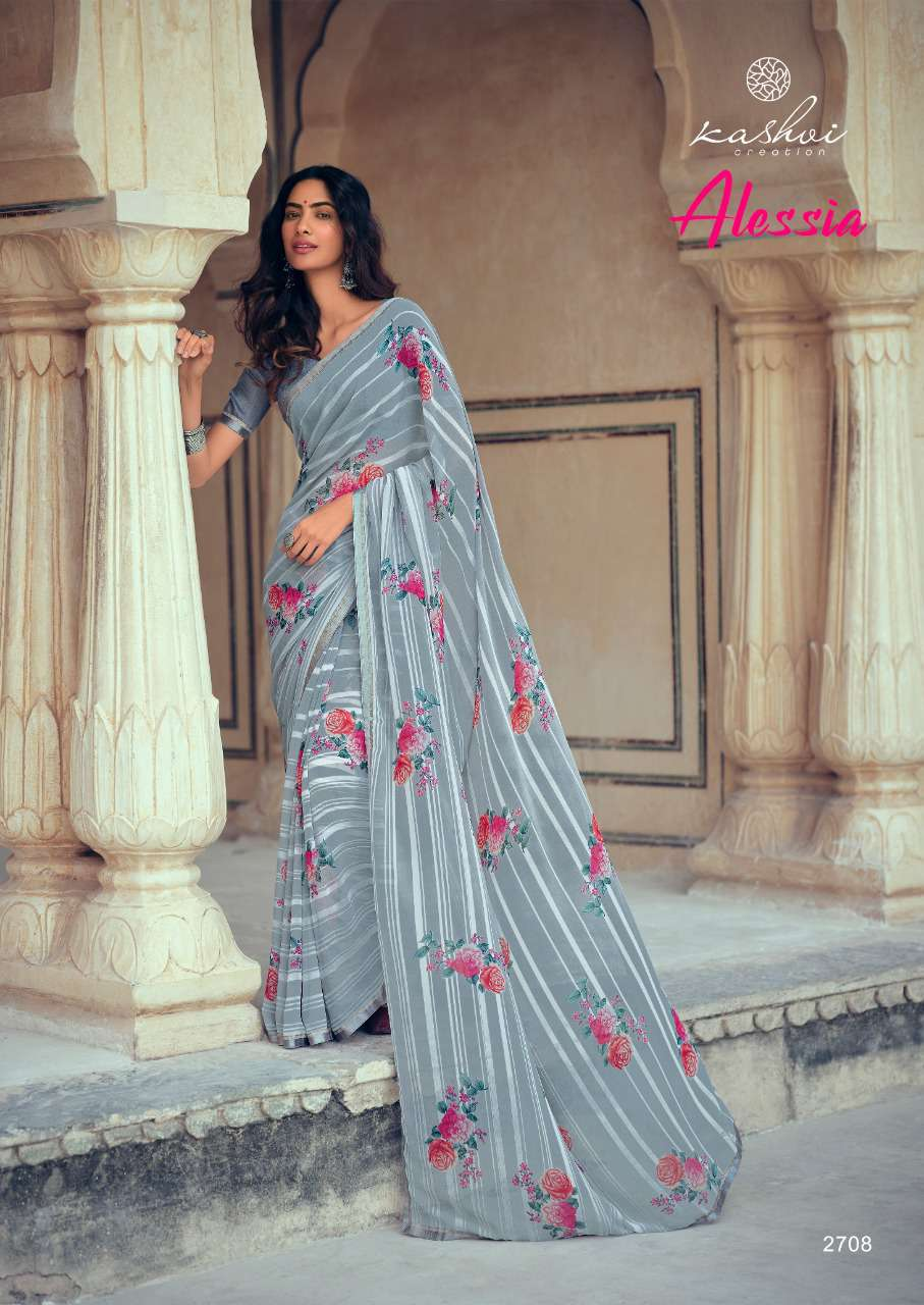 Kashvi Alessia by Lt Fabrics Saree Sari Wholesale Catalog 10 Pcs 16 - Kashvi Alessia by Lt Fabrics Saree Sari Wholesale Catalog 10 Pcs