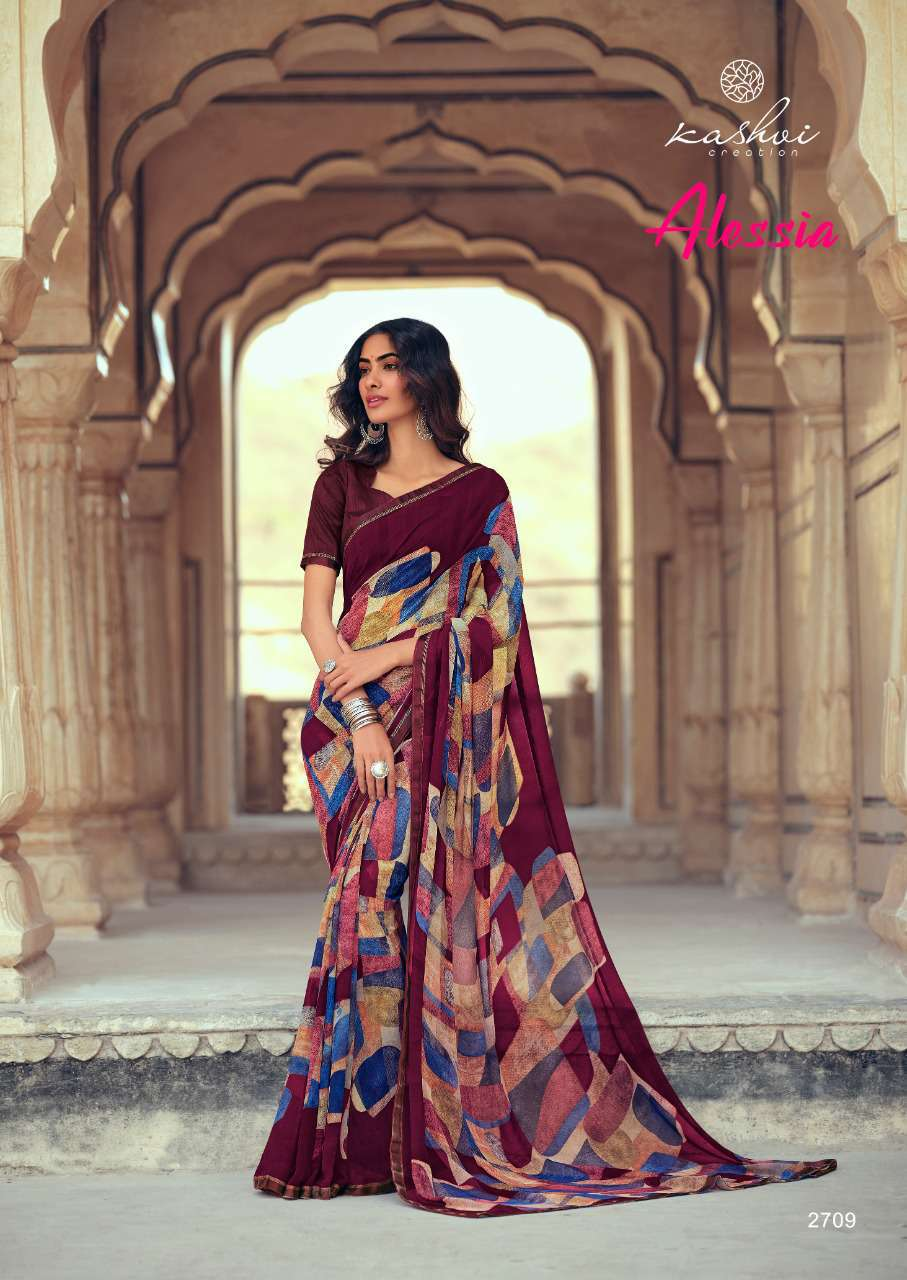 Kashvi Alessia by Lt Fabrics Saree Sari Wholesale Catalog 10 Pcs 18 - Kashvi Alessia by Lt Fabrics Saree Sari Wholesale Catalog 10 Pcs