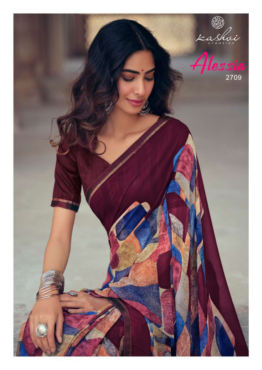 Kashvi Alessia by Lt Fabrics Saree Sari Wholesale Catalog 10 Pcs 20 - Kashvi Alessia by Lt Fabrics Saree Sari Wholesale Catalog 10 Pcs