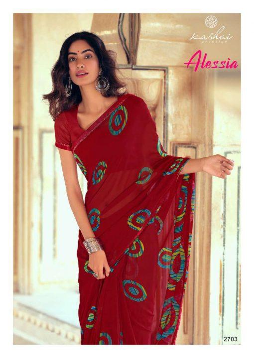 Kashvi Alessia by Lt Fabrics Saree Sari Wholesale Catalog 10 Pcs 5 510x720 - Kashvi Alessia by Lt Fabrics Saree Sari Wholesale Catalog 10 Pcs