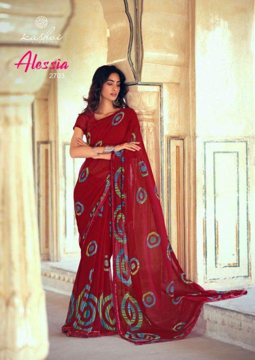 Kashvi Alessia by Lt Fabrics Saree Sari Wholesale Catalog 10 Pcs 7 510x720 - Kashvi Alessia by Lt Fabrics Saree Sari Wholesale Catalog 10 Pcs