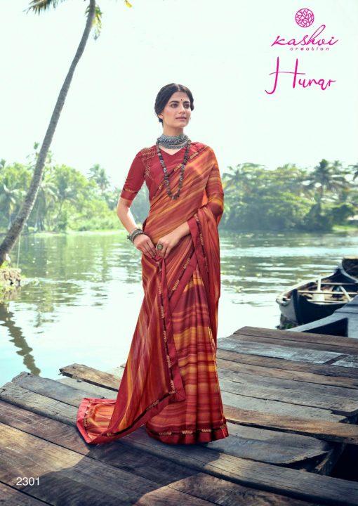 Kashvi Hunar by Lt Fabrics Saree Sari Wholesale Catalog 10 Pcs 1 510x720 - Kashvi Hunar by Lt Fabrics Saree Sari Wholesale Catalog 10 Pcs