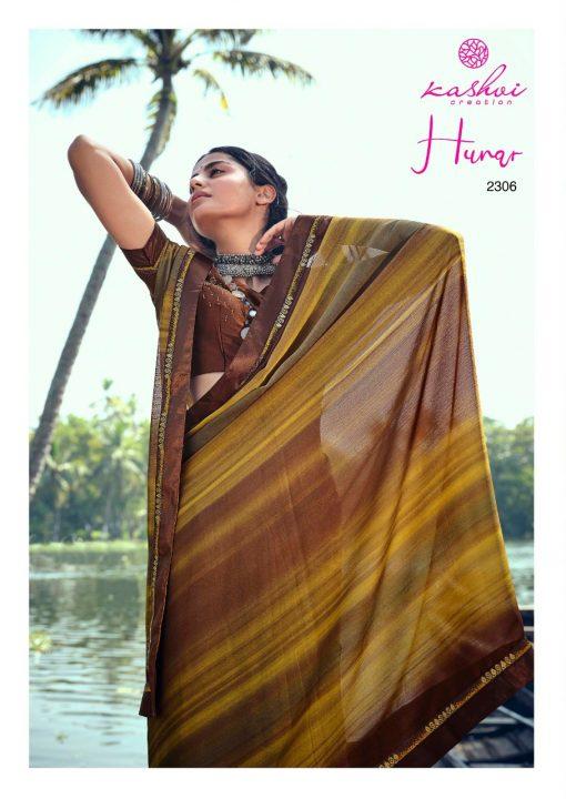 Kashvi Hunar by Lt Fabrics Saree Sari Wholesale Catalog 10 Pcs 11 510x720 - Kashvi Hunar by Lt Fabrics Saree Sari Wholesale Catalog 10 Pcs