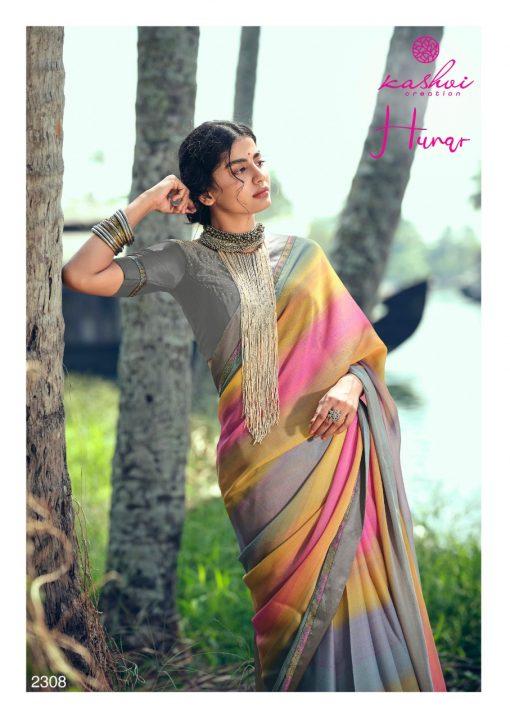 Kashvi Hunar by Lt Fabrics Saree Sari Wholesale Catalog 10 Pcs 16 510x720 - Kashvi Hunar by Lt Fabrics Saree Sari Wholesale Catalog 10 Pcs