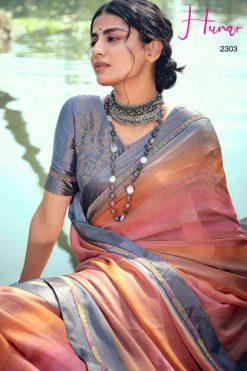 Kashvi Hunar by Lt Fabrics Saree Sari Wholesale Catalog 10 Pcs