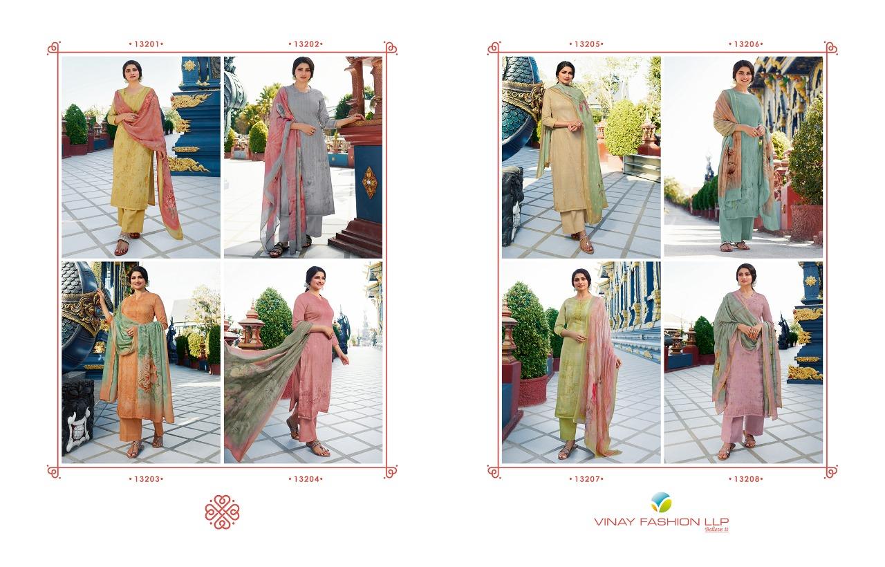 Kervin Sephali by Vinay Salwar Suit Wholesale Catalog 8 Pcs 7 1 - Kervin Sephali by Vinay Salwar Suit Wholesale Catalog 8 Pcs