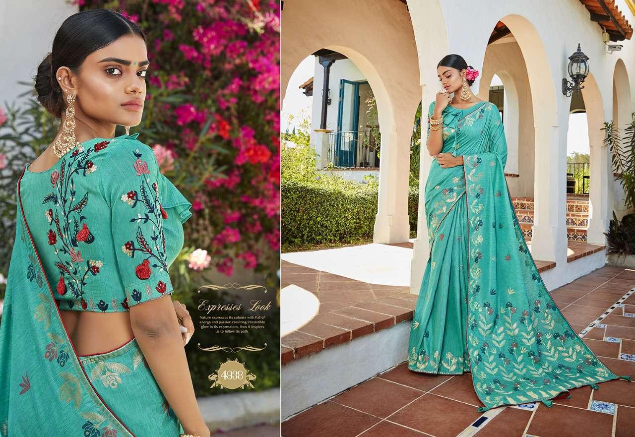 Kessi Garden Silk Saree Sari Wholesale Catalog 10 Pcs 11 - Kessi Garden Silk Saree Sari Wholesale Catalog 10 Pcs