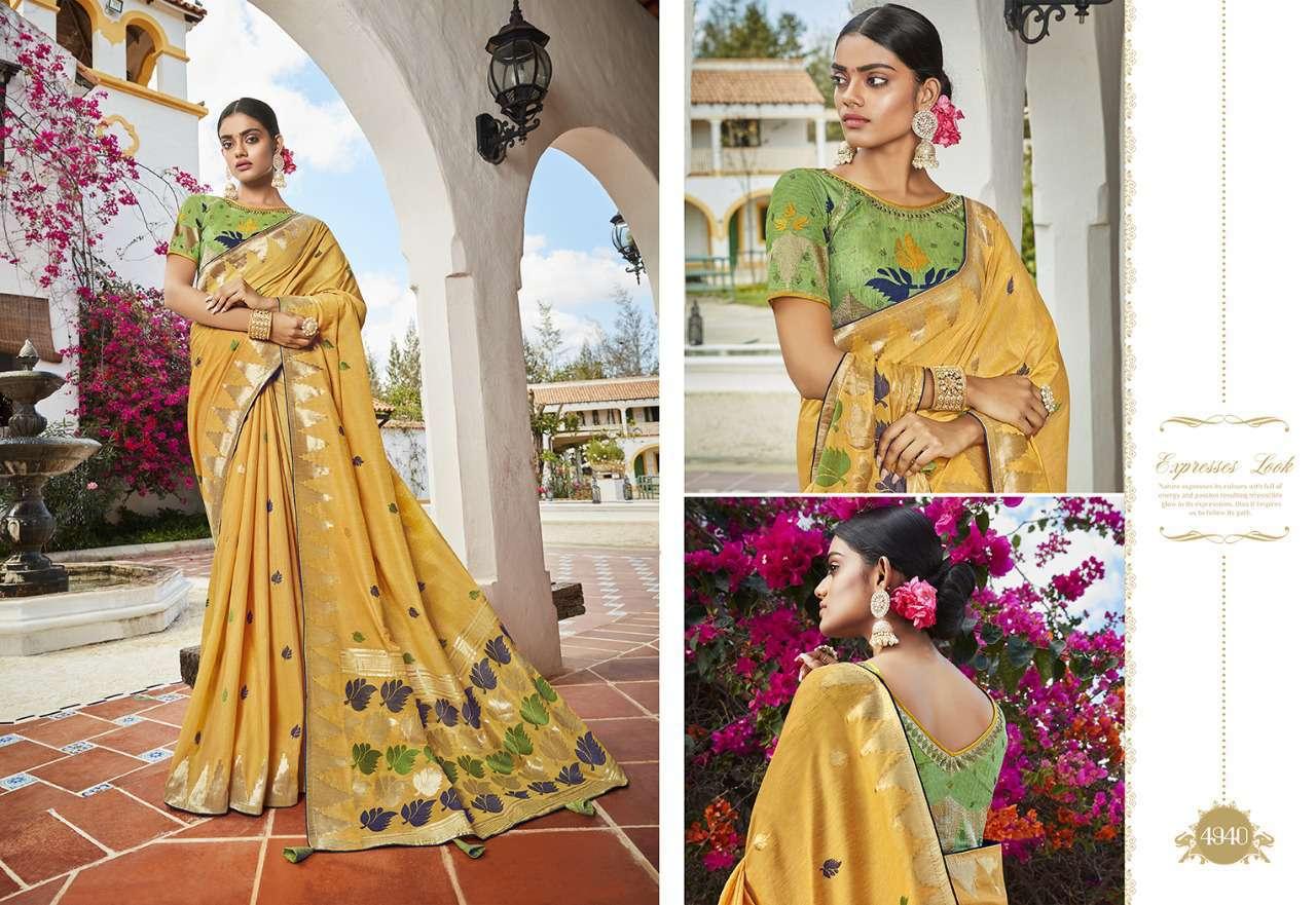 Kessi Garden Silk Saree Sari Wholesale Catalog 10 Pcs 12 - Kessi Garden Silk Saree Sari Wholesale Catalog 10 Pcs