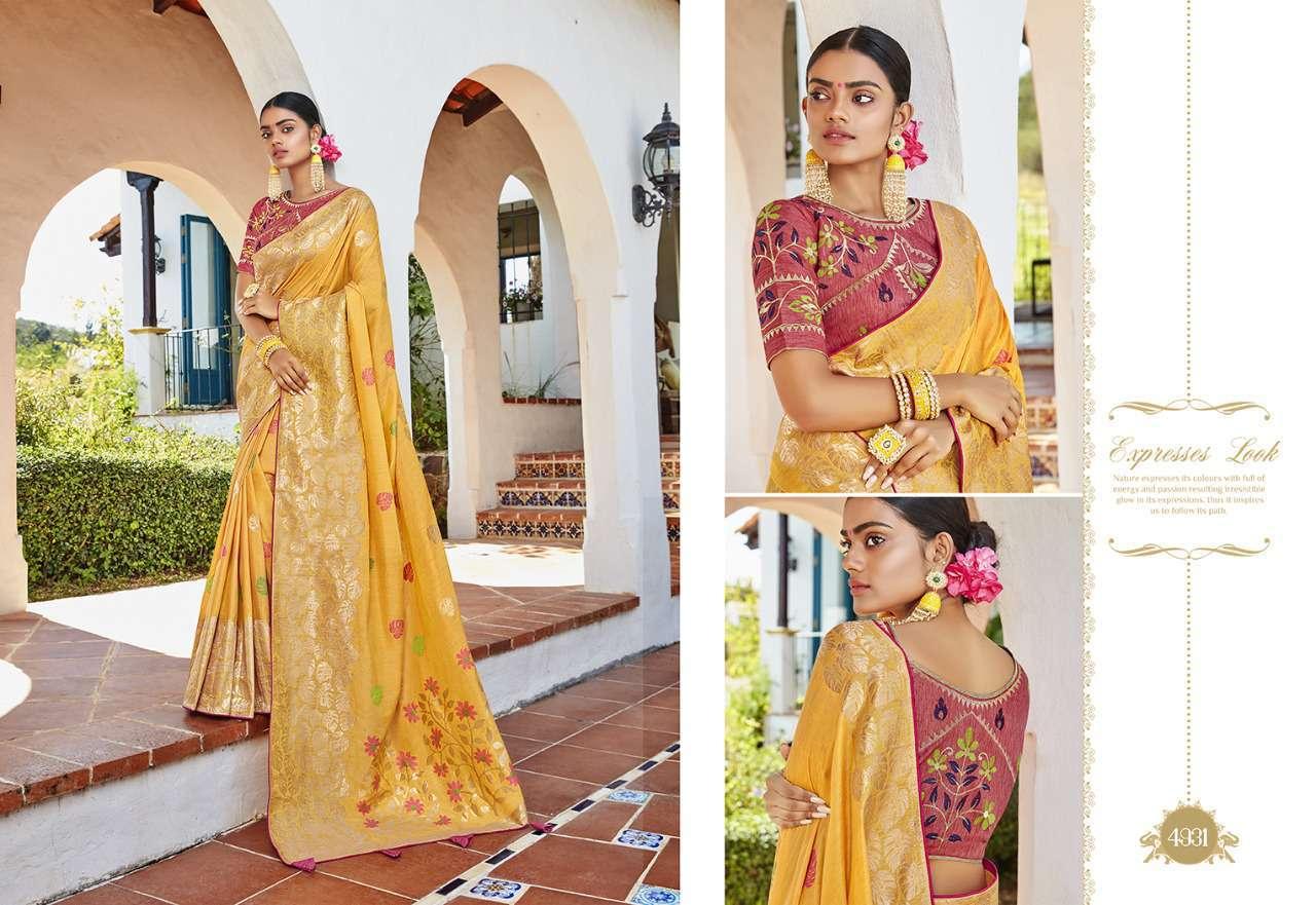 Kessi Garden Silk Saree Sari Wholesale Catalog 10 Pcs 2 - Kessi Garden Silk Saree Sari Wholesale Catalog 10 Pcs