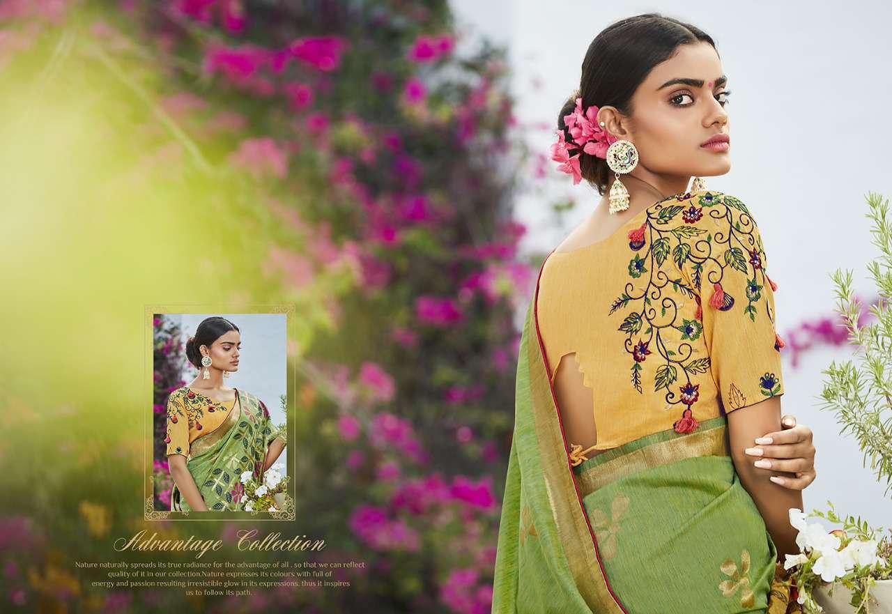 Kessi Garden Silk Saree Sari Wholesale Catalog 10 Pcs 3 - Kessi Garden Silk Saree Sari Wholesale Catalog 10 Pcs