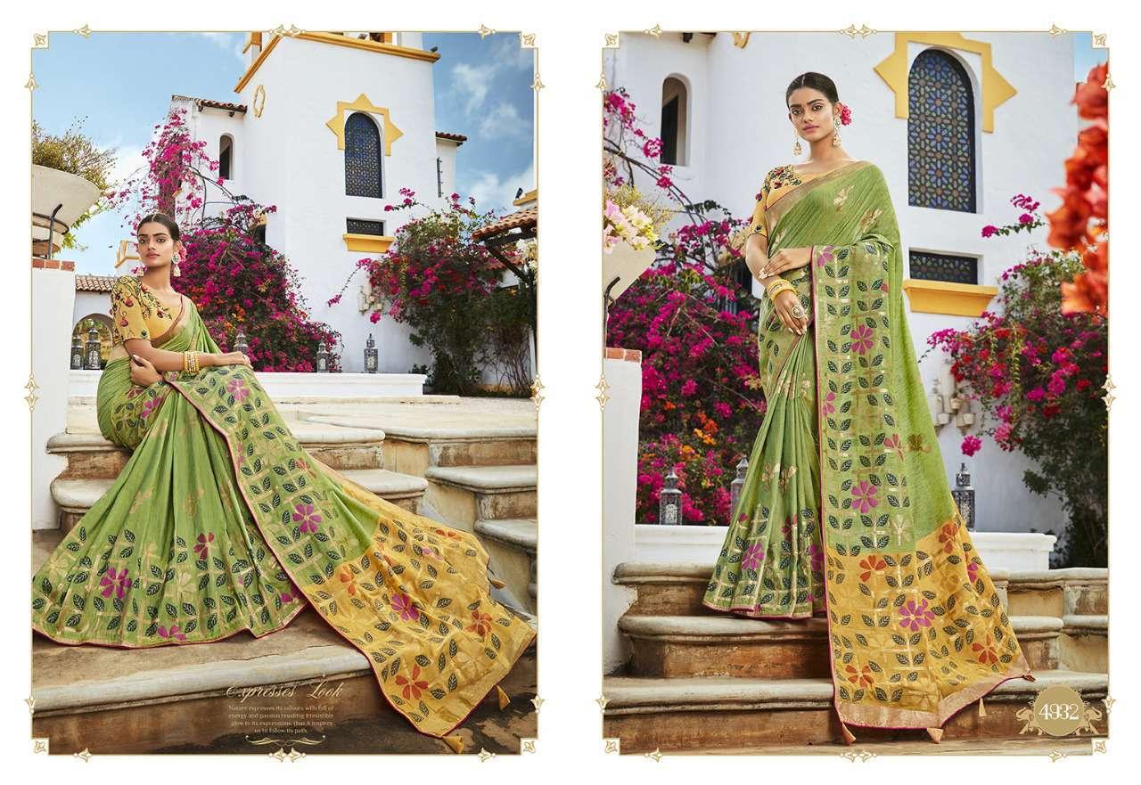 Kessi Garden Silk Saree Sari Wholesale Catalog 10 Pcs 4 - Kessi Garden Silk Saree Sari Wholesale Catalog 10 Pcs