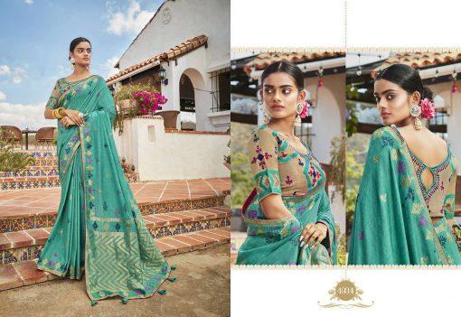 Kessi Garden Silk Saree Sari Wholesale Catalog 10 Pcs 5 510x351 - Kessi Garden Silk Saree Sari Wholesale Catalog 10 Pcs