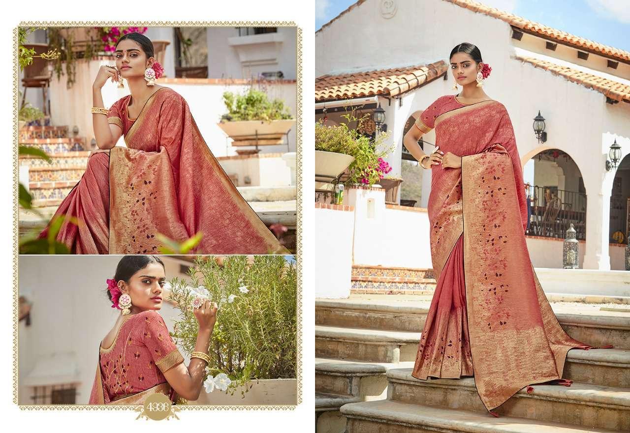 Kessi Garden Silk Saree Sari Wholesale Catalog 10 Pcs 6 - Kessi Garden Silk Saree Sari Wholesale Catalog 10 Pcs