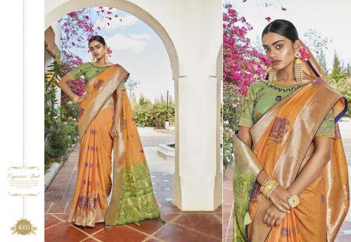Kessi Garden Silk Saree Sari Wholesale Catalog 10 Pcs 7 510x351 - Kessi Garden Silk Saree Sari Wholesale Catalog 10 Pcs