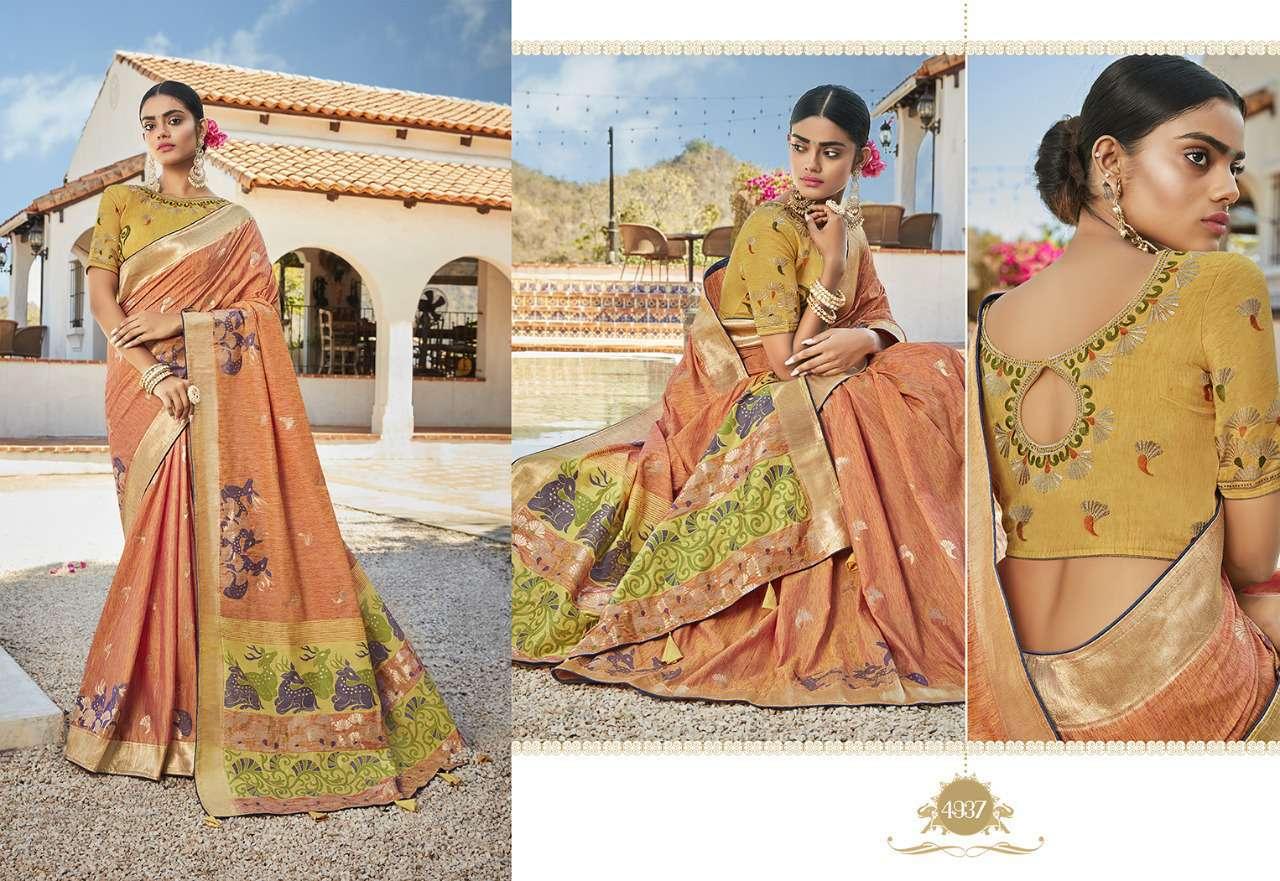 Kessi Garden Silk Saree Sari Wholesale Catalog 10 Pcs 8 - Kessi Garden Silk Saree Sari Wholesale Catalog 10 Pcs
