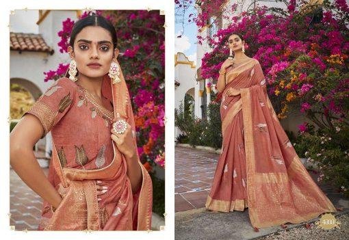 Kessi Garden Silk Saree Sari Wholesale Catalog 10 Pcs 9 510x351 - Kessi Garden Silk Saree Sari Wholesale Catalog 10 Pcs