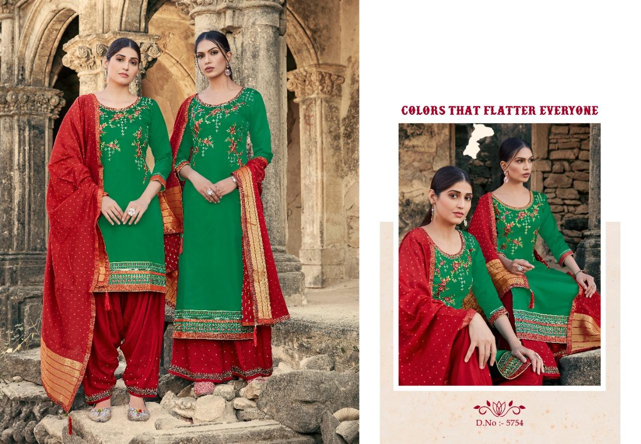 Kessi Lashkara Vol 2 Salwar Suit Wholesale Catalog 8 Pcs 10 - Kessi Lashkara Vol 2 Salwar Suit Wholesale Catalog 8 Pcs