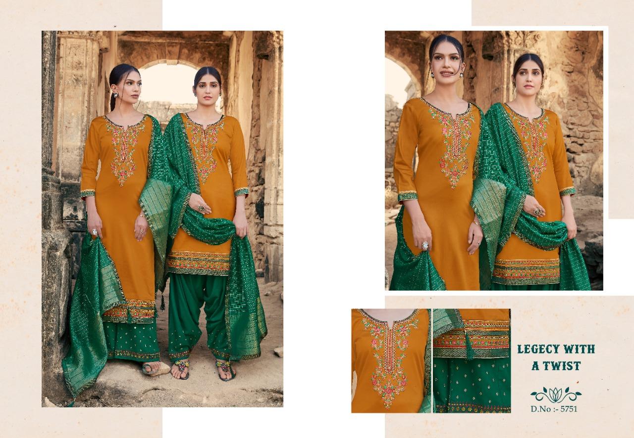 Kessi Lashkara Vol 2 Salwar Suit Wholesale Catalog 8 Pcs 8 - Kessi Lashkara Vol 2 Salwar Suit Wholesale Catalog 8 Pcs