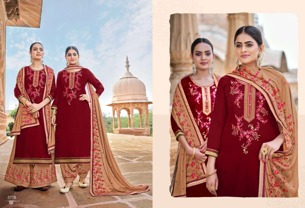 Kessi Panetar by Patiala Salwar Suit Wholesale Catalog 8 Pcs 8 - Kessi Panetar by Patiala Salwar Suit Wholesale Catalog 8 Pcs