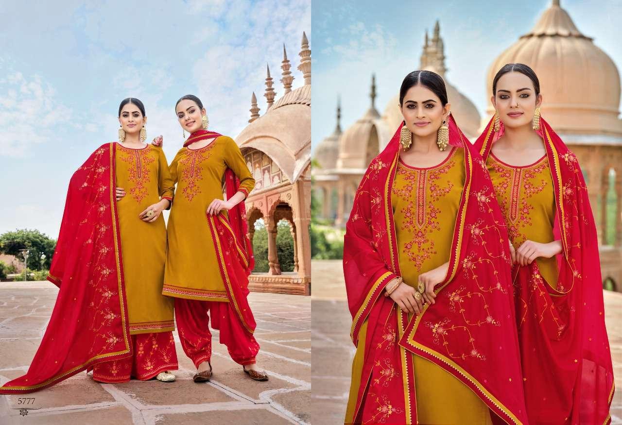 Kessi Panetar by Patiala Salwar Suit Wholesale Catalog 8 Pcs 9 - Kessi Panetar by Patiala Salwar Suit Wholesale Catalog 8 Pcs