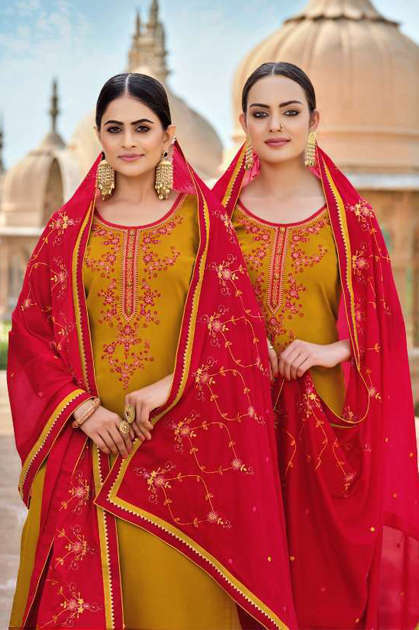 Kessi Panetar by Patiala Salwar Suit Wholesale Catalog 8 Pcs - Kessi Panetar by Patiala Salwar Suit Wholesale Catalog 8 Pcs