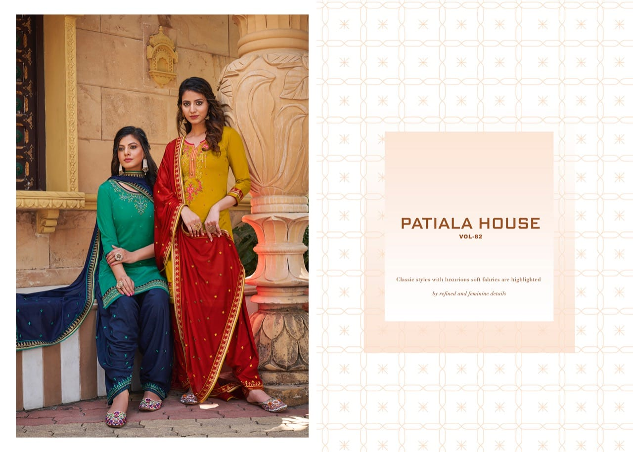 Kessi Patiala House Vol 82 Salwar Suit Wholesale Catalog 8 Pcs 10 - Kessi Patiala House Vol 82 Salwar Suit Wholesale Catalog 8 Pcs