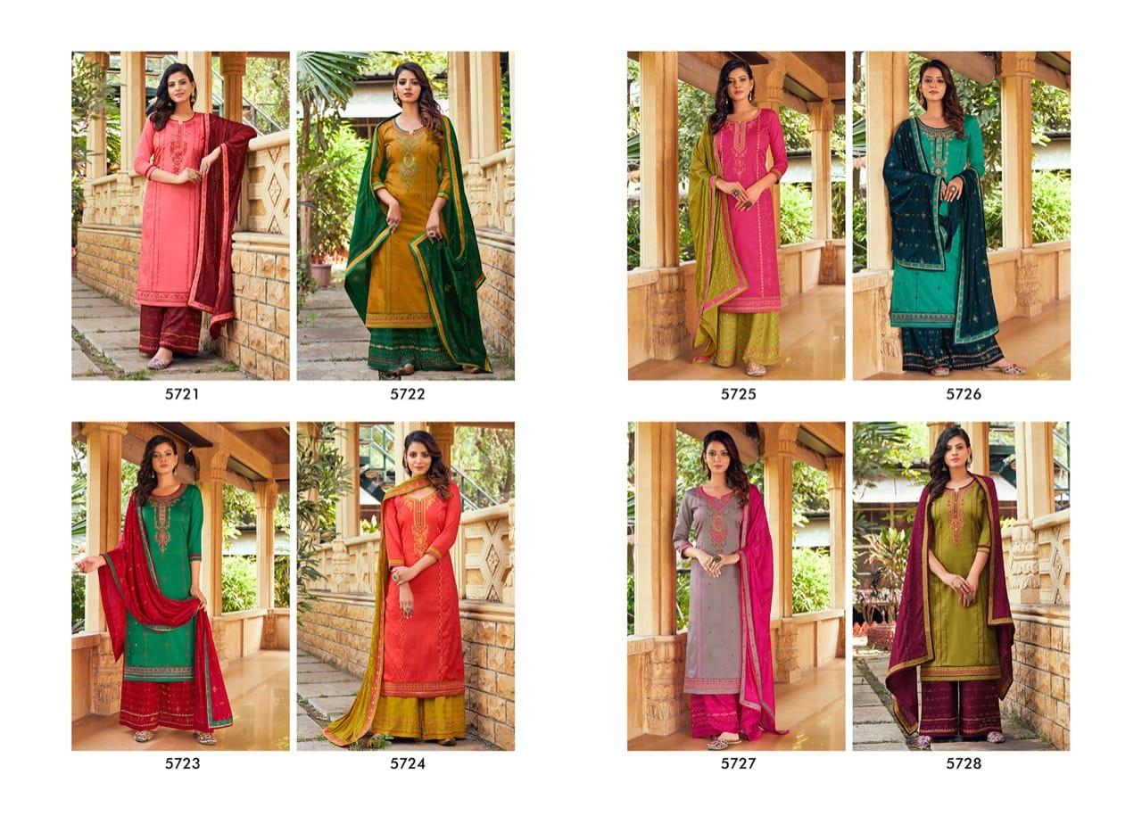 Kessi Safari Vol 3 Salwar Suit Wholesale Catalog 8 Pcs 10 - Kessi Safari Vol 3 Salwar Suit Wholesale Catalog 8 Pcs