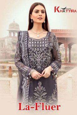 Khayyira La Fluer Salwar Suit Wholesale Catalog 3 Pcs