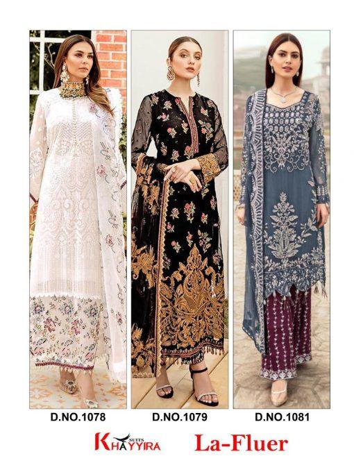 Khayyira La Fluer Salwar Suit Wholesale Catalog 3 Pcs 5 510x680 - Khayyira La Fluer Salwar Suit Wholesale Catalog 3 Pcs