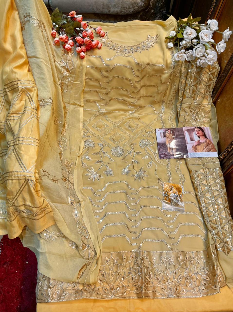 Khayyira Zebtan Bridal Collection Salwar Suit Wholesale Catalog 4 Pcs 8 - Khayyira Zebtan Bridal Collection Salwar Suit Wholesale Catalog 4 Pcs