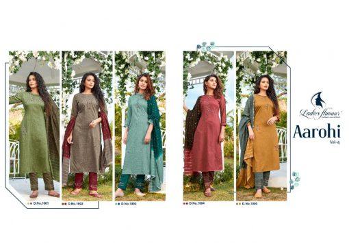 Ladies Flavour Aarohi Vol 4 Kurti with Bottom Dupatta Wholesale Catalog 5 Pcs 12 510x355 - Ladies Flavour Aarohi Vol 4 Kurti with Bottom Dupatta Wholesale Catalog 5 Pcs