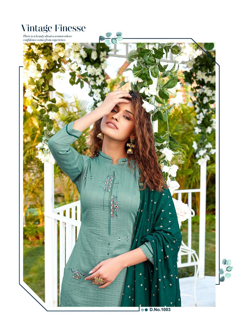 Ladies Flavour Aarohi Vol 4 Kurti with Bottom Dupatta Wholesale Catalog 5 Pcs 7 - Ladies Flavour Aarohi Vol 4 Kurti with Bottom Dupatta Wholesale Catalog 5 Pcs