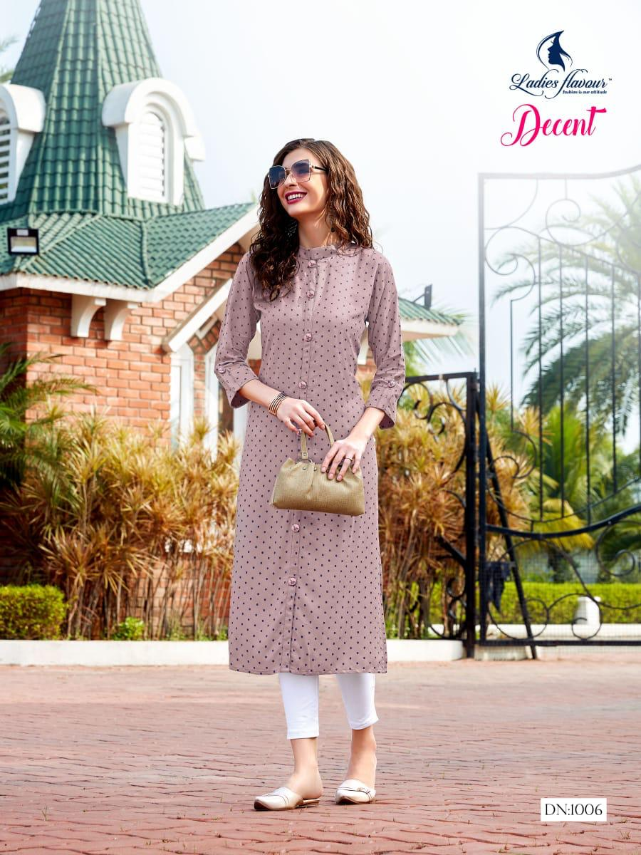 Ladies Flavour Decent Kurti Wholesale Catalog 6 Pcs 13 - Ladies Flavour Decent Kurti Wholesale Catalog 6 Pcs
