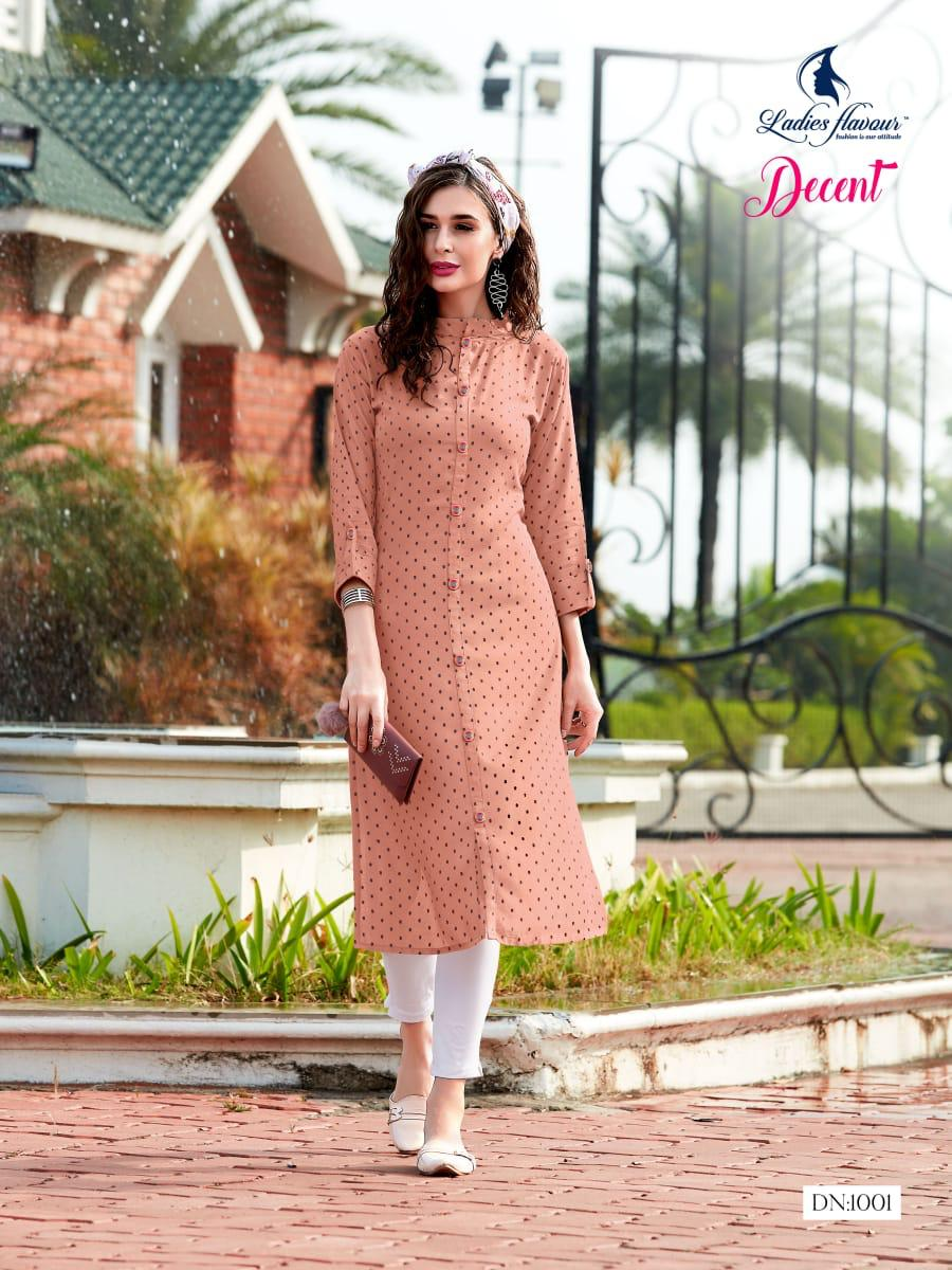 Ladies Flavour Decent Kurti Wholesale Catalog 6 Pcs 3 - Ladies Flavour Decent Kurti Wholesale Catalog 6 Pcs