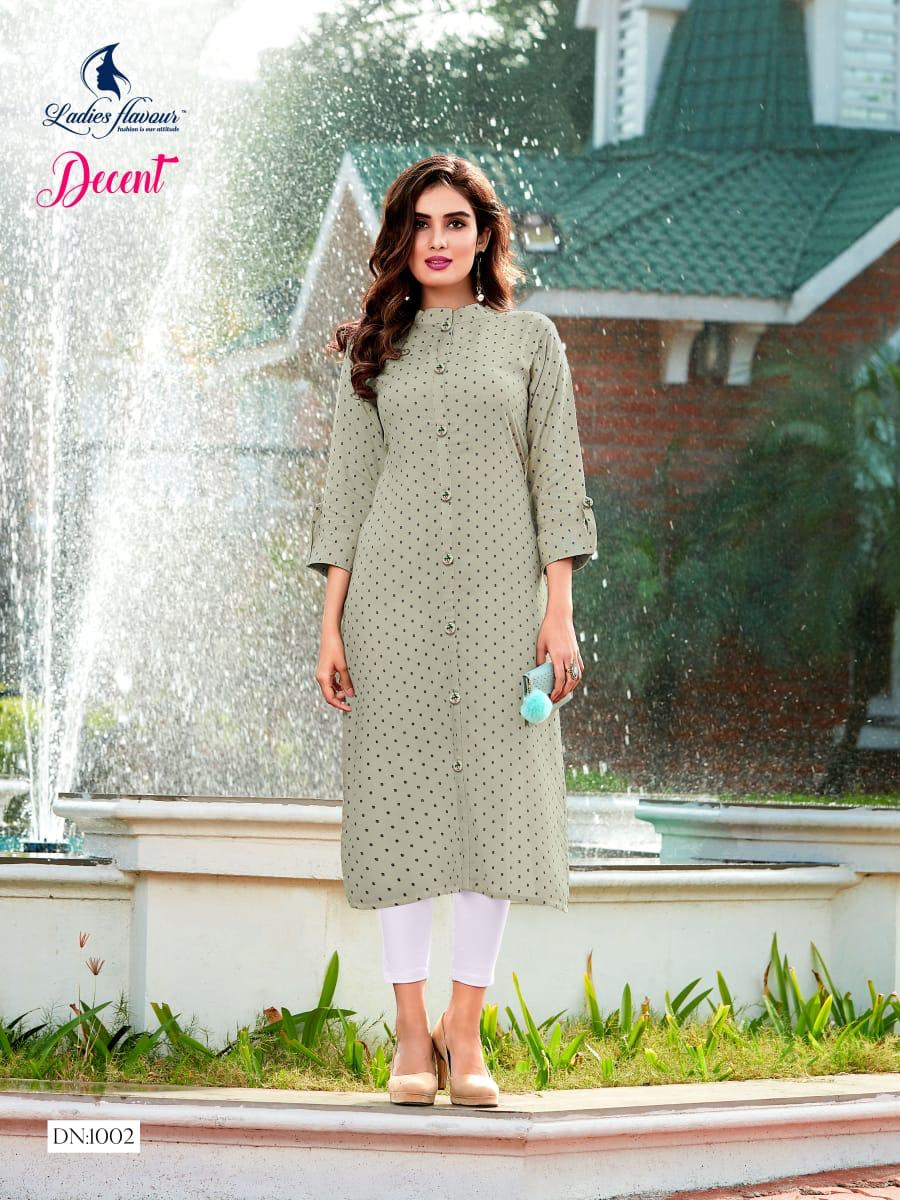 Ladies Flavour Decent Kurti Wholesale Catalog 6 Pcs 5 - Ladies Flavour Decent Kurti Wholesale Catalog 6 Pcs