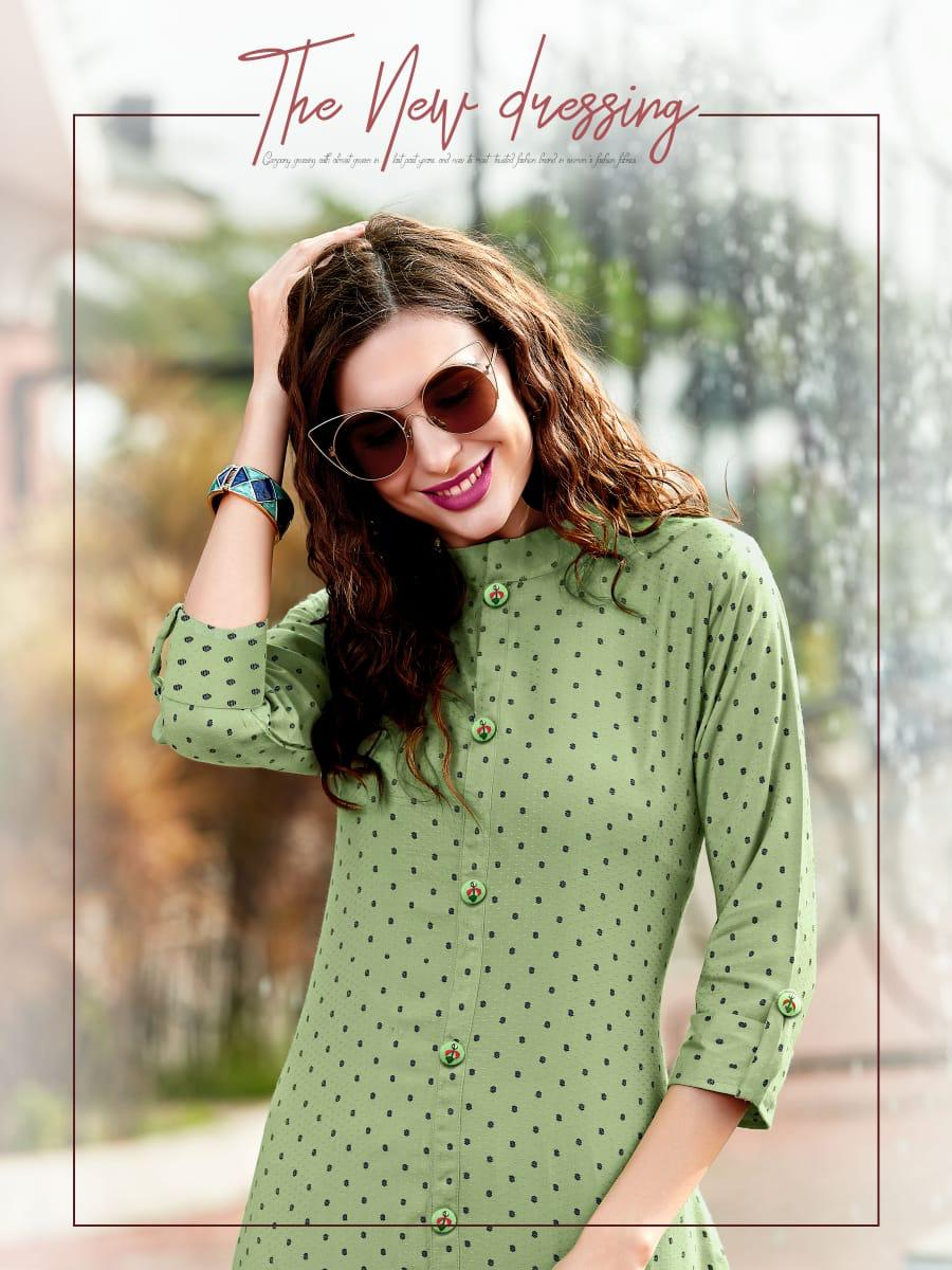 Ladies Flavour Decent Kurti Wholesale Catalog 6 Pcs 6 - Ladies Flavour Decent Kurti Wholesale Catalog 6 Pcs