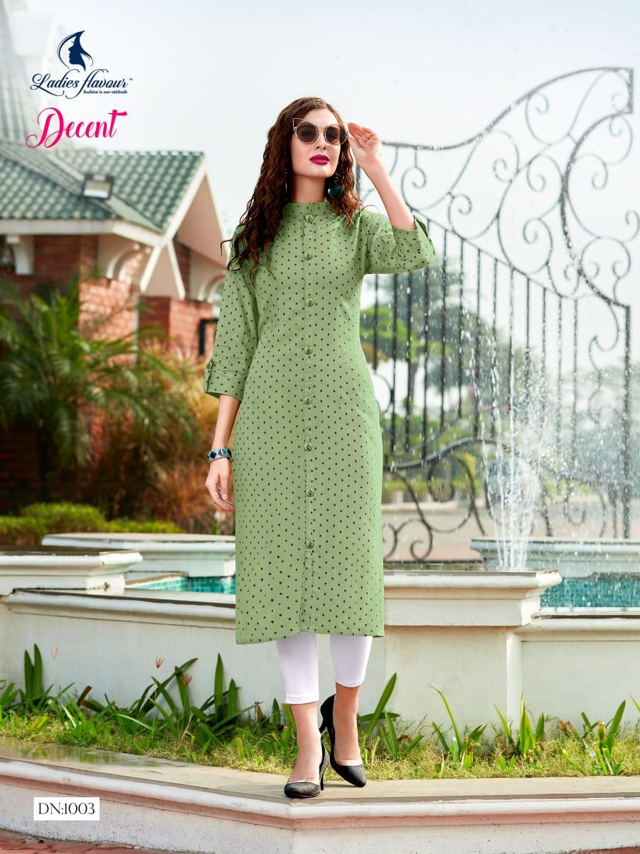 Ladies Flavour Decent Kurti Wholesale Catalog 6 Pcs 7 - Ladies Flavour Decent Kurti Wholesale Catalog 6 Pcs