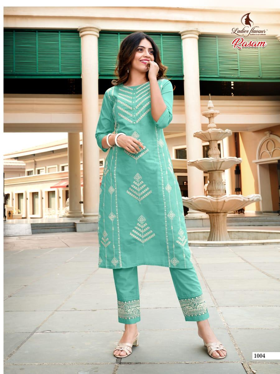 Ladies Flavour Rasam Kurti with Pant Wholesale Catalog 6 Pcs 10 - Ladies Flavour Rasam Kurti with Pant Wholesale Catalog 6 Pcs