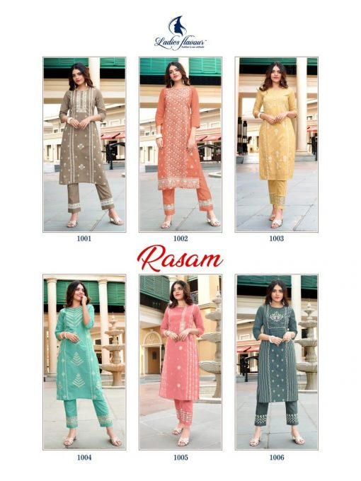 Ladies Flavour Rasam Kurti with Pant Wholesale Catalog 6 Pcs 11 510x680 - Ladies Flavour Rasam Kurti with Pant Wholesale Catalog 6 Pcs