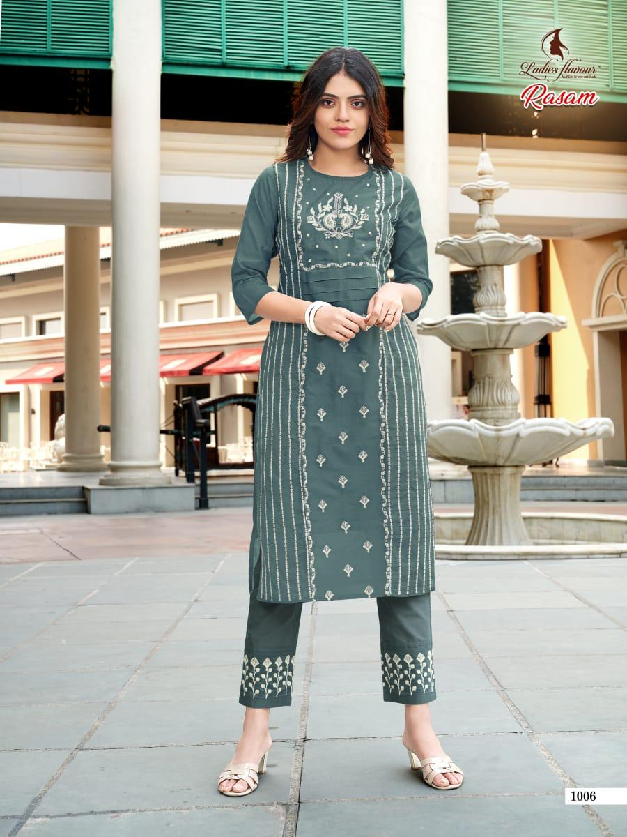 Ladies Flavour Rasam Kurti with Pant Wholesale Catalog 6 Pcs 12 - Ladies Flavour Rasam Kurti with Pant Wholesale Catalog 6 Pcs