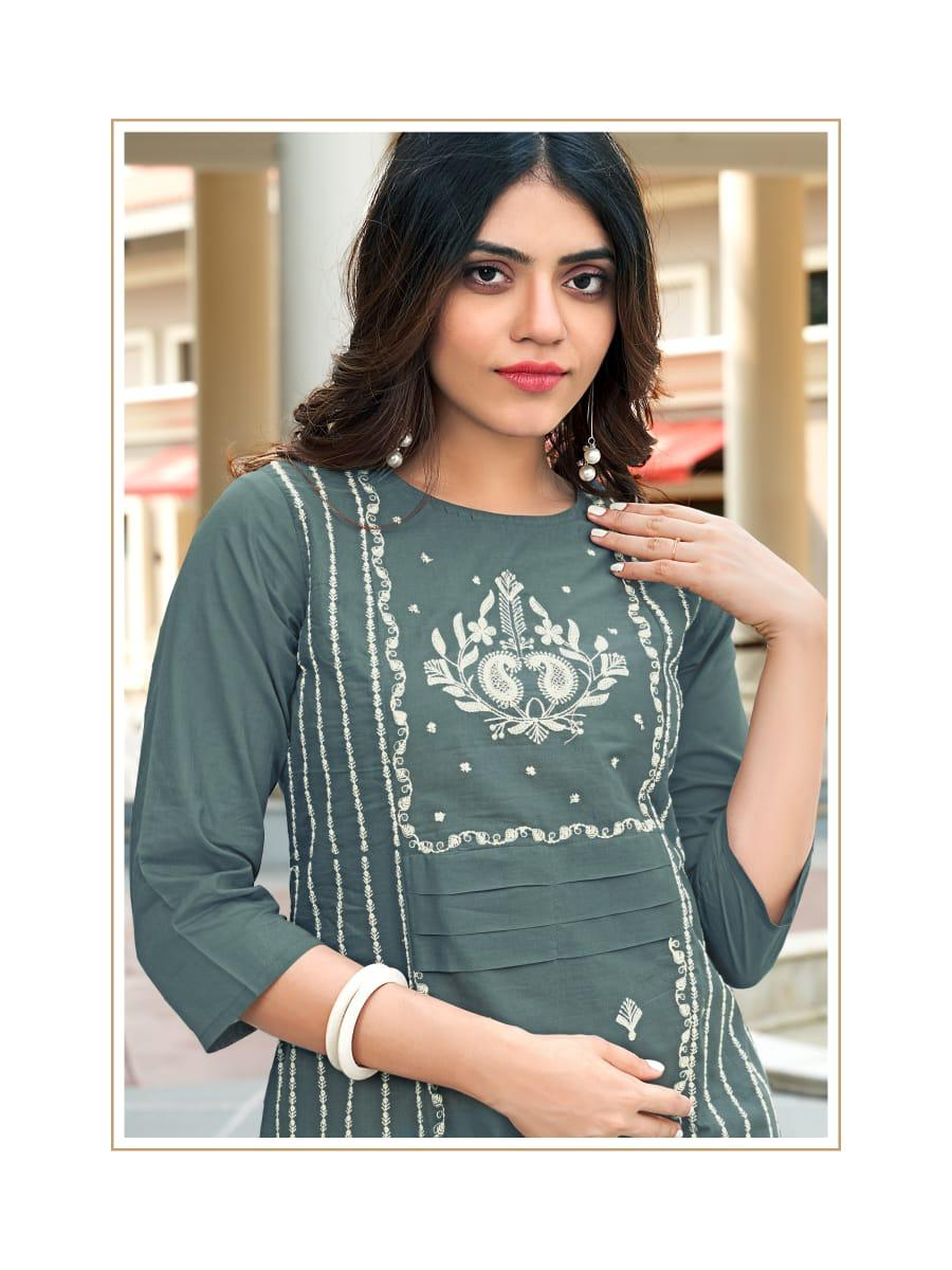 Ladies Flavour Rasam Kurti with Pant Wholesale Catalog 6 Pcs 14 - Ladies Flavour Rasam Kurti with Pant Wholesale Catalog 6 Pcs